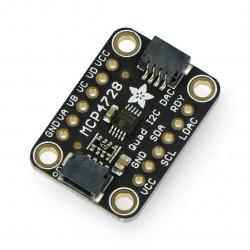 MCP4728 przetwonik DAC I2C - 4 kanały + EEPROM - Adafruit 4470
