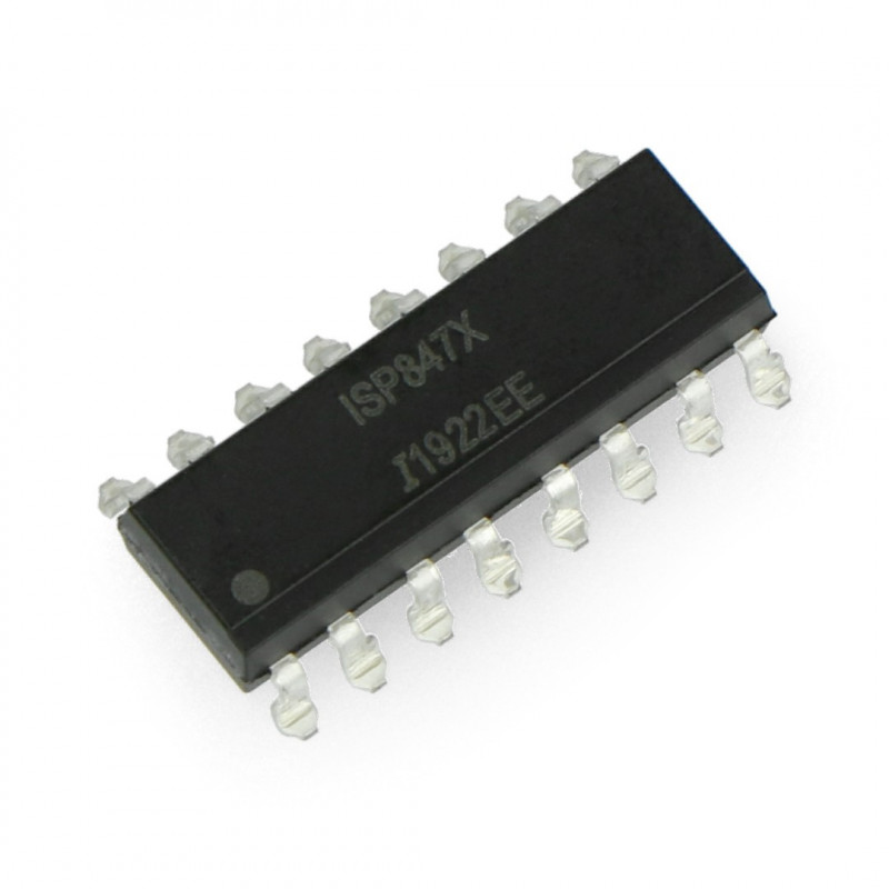 Multiple optocoupler ISP847 - SMD