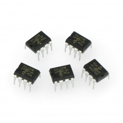 Pamięć EEPROM 1kb I2C 24LC01B-I/P
