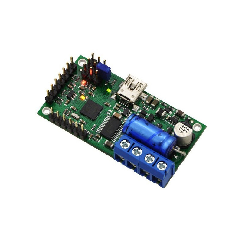 Simple High-Power 18v7 - USB 30V / 7A motor driver - assembled - Pololu 1372