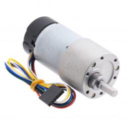 DC Motor 37Dx73L with 100:1 12V 100RPM + encoder CPR 64