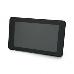 "Case for Raspberry Pi 4 and Touchscreen 7"" - black"