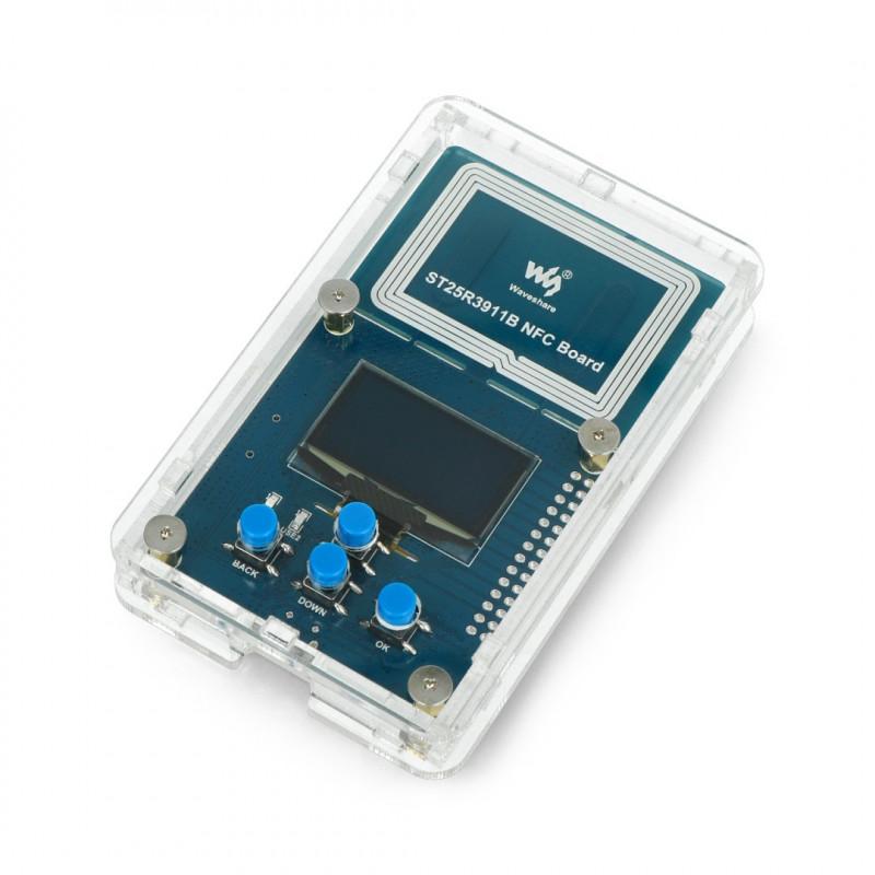 Zestaw rozwojowy NFC - STM32 ST25R3911 - Waveshare 17623