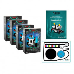 Set of programming lab - Abilix Krypton 0 + mat + lessons scenarios - for 8 students