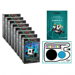 Set of programming lab - Abilix Krypton 0 + mat + lessons scenarios - for 16 students