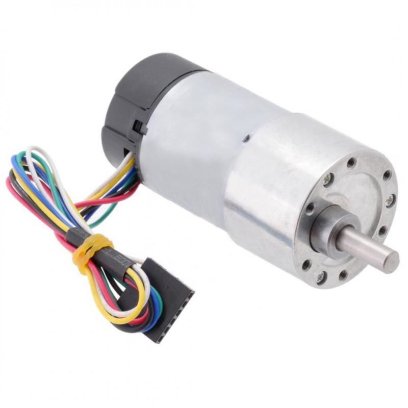 Silnik z przekładnią 37Dx70L 70:1 12V 150RPM + enkoder CPR 64 - Pololu 2825