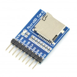 Moduł czytnika kart microSD - Waveshare
