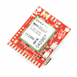 Module GSM GPRS dual SIM c-uGSM μ-v shield.1.13 - Arduino and Raspberry Pi connector.FL