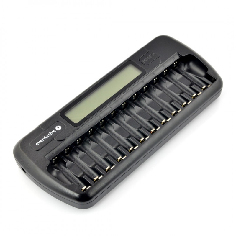 Battery charger everActive NC1200 - AA, AAA 1-12pcs