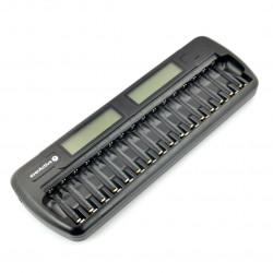 Ładowarka akumulatorów everActive NC1600 - AA, AAA - 1 do 16 sztuk