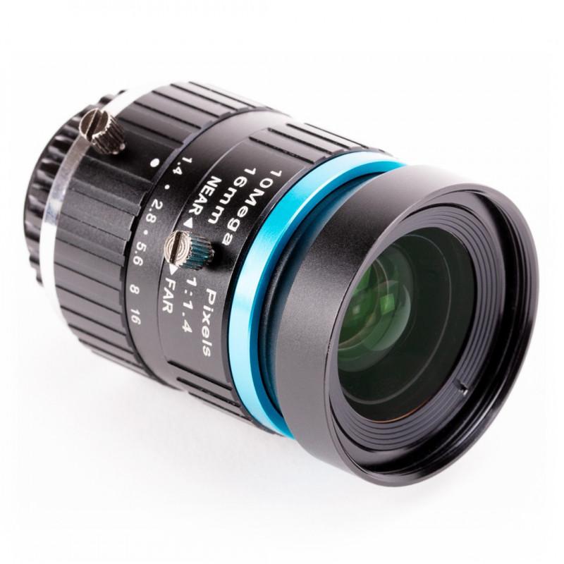 Obiektyw PT3611614M10MP C mount - teleobiektyw 16mm - do kamery Raspberry Pi