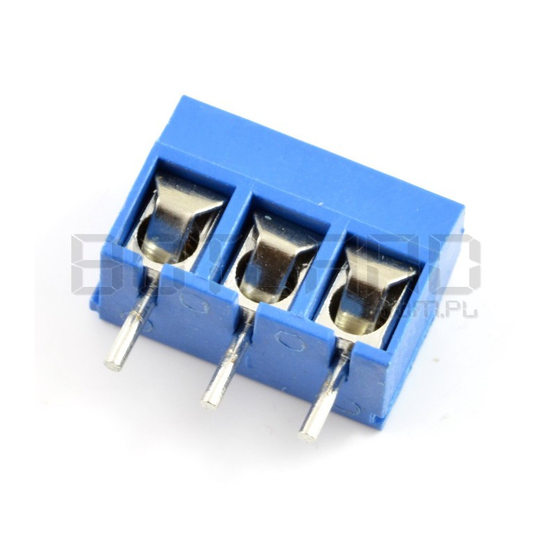 Złącze ARK KF301 raster 5,0mm 3 pin (-) - 5szt.