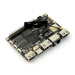 Khadas VIM2 Pro - ARM Cortex A53 Octa-Core 1,5GHz WiFi + 3GB RAM + 32GB eMMC
