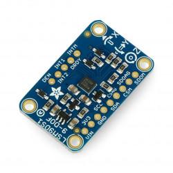 Adafruit LSM9DS1 9DoF IMU - 3-osiowy akcelerometr, żyroskop i magnetometr I2C/SPI