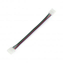Konektor do taśm LED 10mm 4 pin - z przewodem