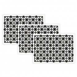 Bare Conductive Printed Sensor - papierowe czujniki dotyku - 3 szt.