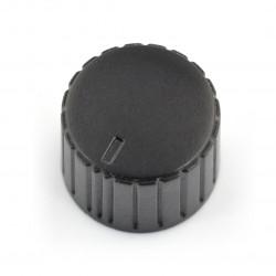 Gałka potencjometru GC20 czarna - 20mm