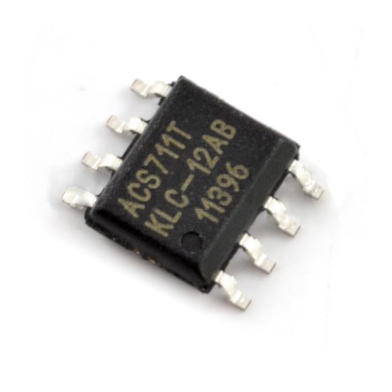 Current sensor ACS711KLCTR +/- 12A - SMD*