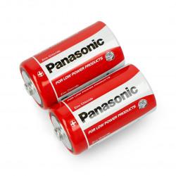 Bateria R20 Panasonic typ D - 2szt.