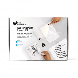 78/5000 Bare Conductive Electric Paint Lamp Kit - a set for creating paper lamps