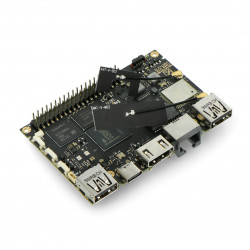 Khadas VIM3L - ARM Cortex A55 Quad-Core 1,9GHz WiFi + 2GB RAM + 16GB eMMC