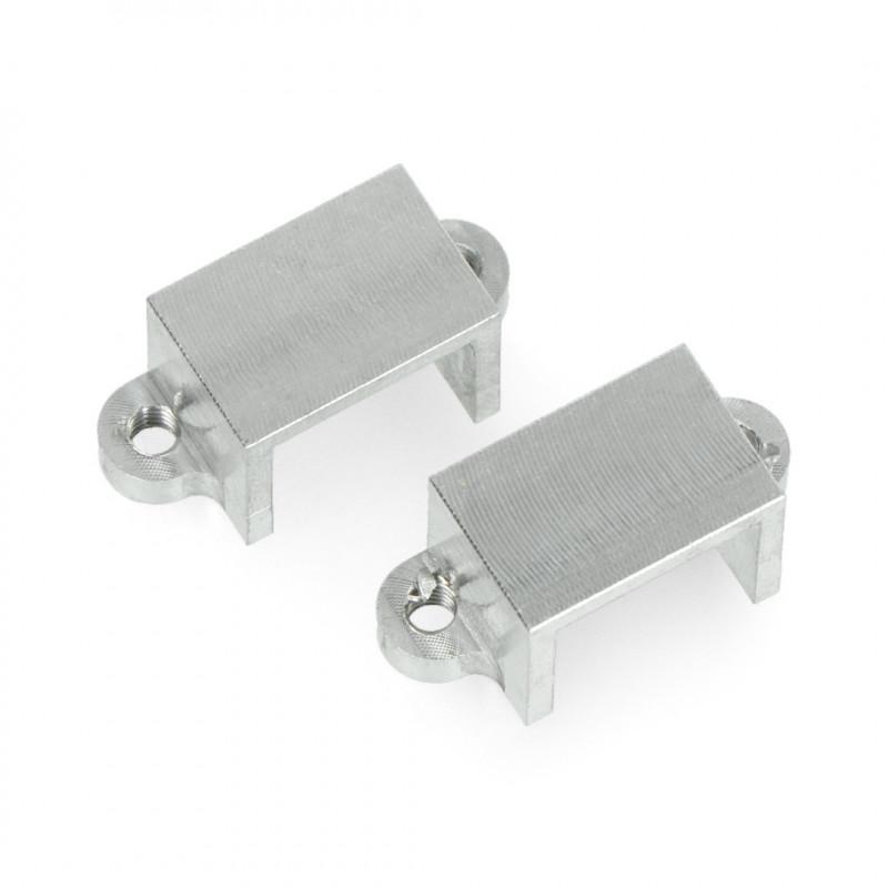 Mocowania do micro silników Pololu - aluminiowe - 2szt.
