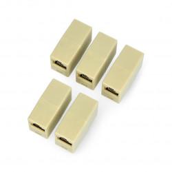 Złącze do łączenia kabli sieciowych RJ45 / 8P8C