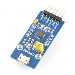 Konwerter USB-UART CP2102 - gniazdo microUSB
