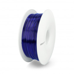 Filament Fiberlogy Easy PETG 1,75mm 0,85kg - Transparent Navy Blue