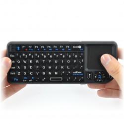 Klawiatura bezprzewodowa Ultra Mini keyboard - klawiatura + touchpad + wskaźnik - Bluetooth