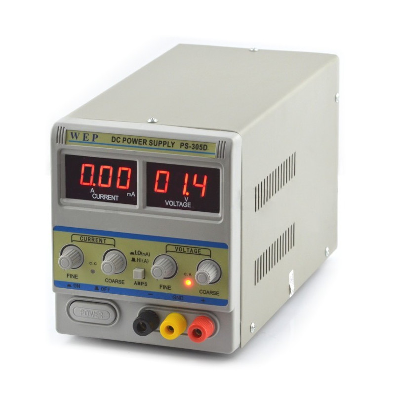 Laboratory power supply WEP PS-305D 30V 5A