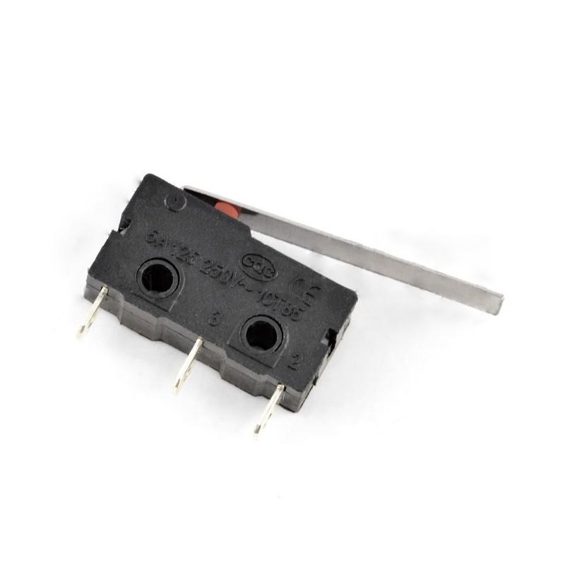 Wyłącznik czujnik krańcowy mini z dźwignią - WK612