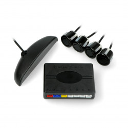 Parking sensors kit - Blow PS-1 - 22mm - black