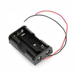 Koszyk na 2 baterie typu AA (R6)
