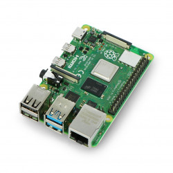 4 Raspberry Pi model B Dual-band wifi Bluetooth 8 GB of RAM 1.5 GHz