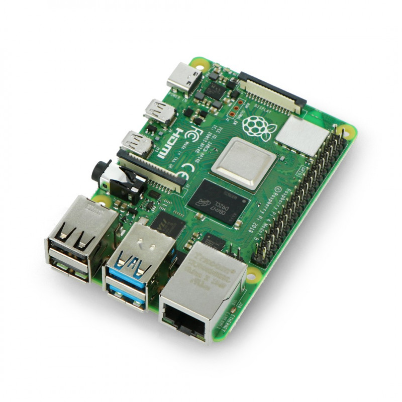 Raspberry Pi 4 model B WiFi DualBand Bluetooth 8GB RAM 1,5GHz