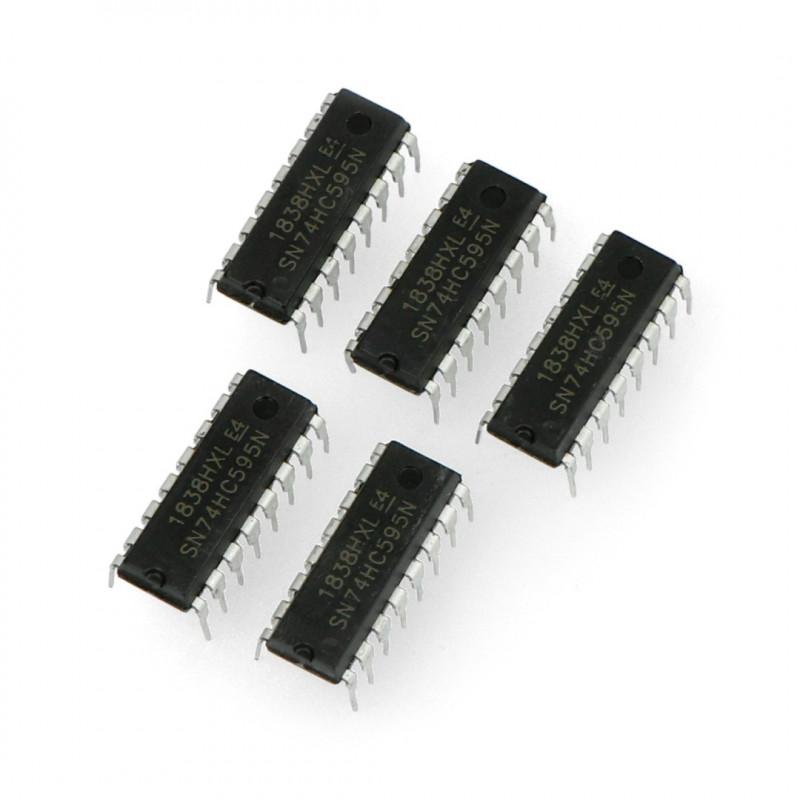 Shift register 74HC595 - 8-bit_ 5pcs