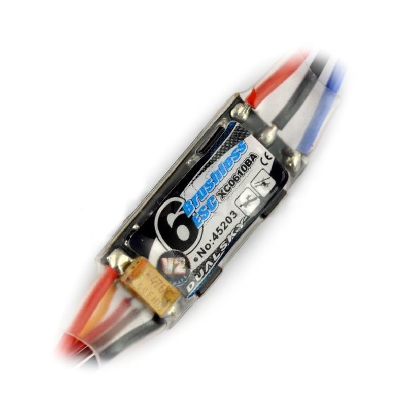 Sterownik silnika bezszczotkowego (BLDC) Dualsky 6A v2