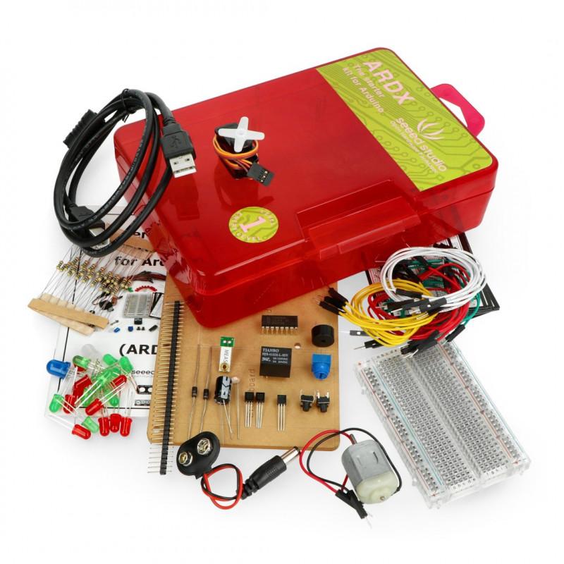 Seeed Studio ARDX starter kit - zestaw do nauki i eksperymentów dla Arduino poziom 1
