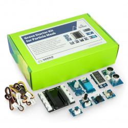 Grove - Starter Kit dla Particle Mesh - zestaw startowy - Seeedstudio 110060906