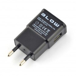 Zasilacz Blow USB 5V 2,1A z przewodem - Raspberry Pi