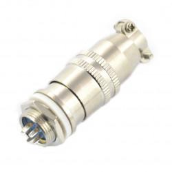 Złącze przemysłowe ZP2 z szybkozłączem - 5-pinowe
