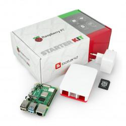 Zestaw z Raspberry Pi 4B WiFi 8GB RAM + oficjalne akcesoria