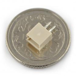 Gniazdo JST proste raster 1,0mm - poziome