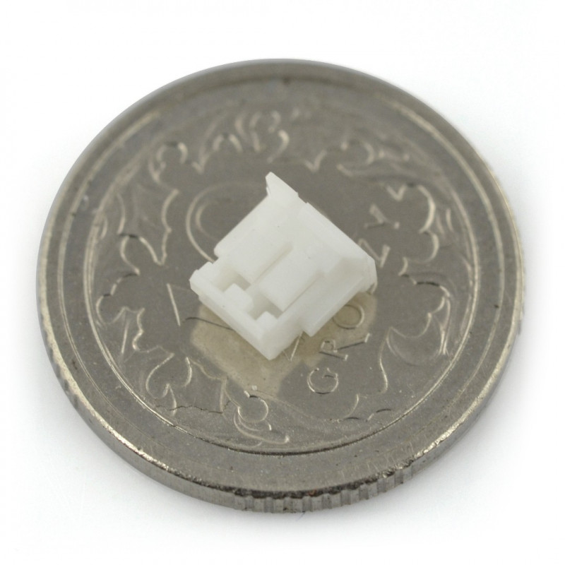 JST plug, straight pitch 1,5mm