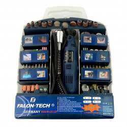 Miniwiertarka Falon Tech MG02A z akcesoriami - LED- 320 elementów