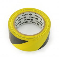 Taśma ostrzegawcza klejąca żółto-czarna 48mm x 33m