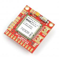 Moduł GSM GPRS Bluetooth - h-nanoGSM v.1.08 - do Arduino i Raspberry Pi - złącze u.FL