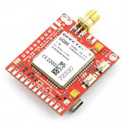 GSM-3G-SIM-card - d-u3G μ-v shield.1.13 - Arduino and Raspberry Pi - SMA connector