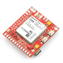 GSM-3G-SIM-card - d-u3G μ-v shield.1.13 - Arduino and Raspberry Pi connector.FL